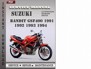 Suzuki Bandit Gsf400 1992 Service Repair Manual Download