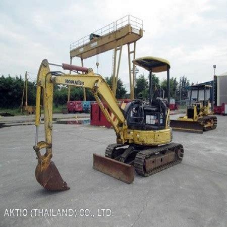 komatsu pcmr  mini excavator  saleaktio thailand coltdbang sao thongthailand