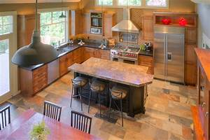Industrial farmhouse kitchen remodel - Traditional