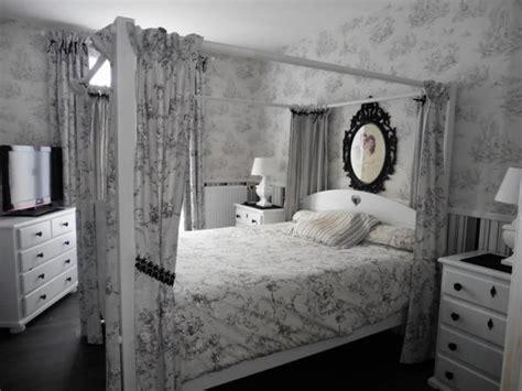 chambre toile de jouy 107 deco de chambre baroque toile de jouy blanc gris
