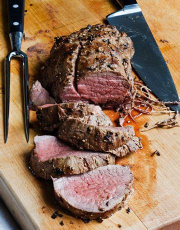 Spread butter on with your hands. Balsamic Roasted Beef Recipe | Ina garten, Beef tenderloin and Salts