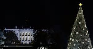 2012 obama family lights national