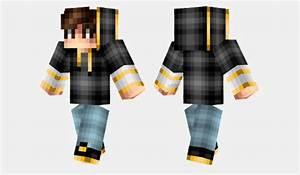 Golden Hoodie Skin Para Minecraft MineCrafteo