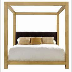 Metal Canopy Bed  Bernhardt #gold #bed  Furniture