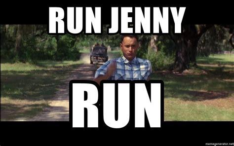 Run Forrest Run Meme - run jenny run forrest gump running meme generator