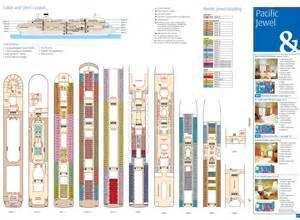 pacific jewel cruise ship deck plan