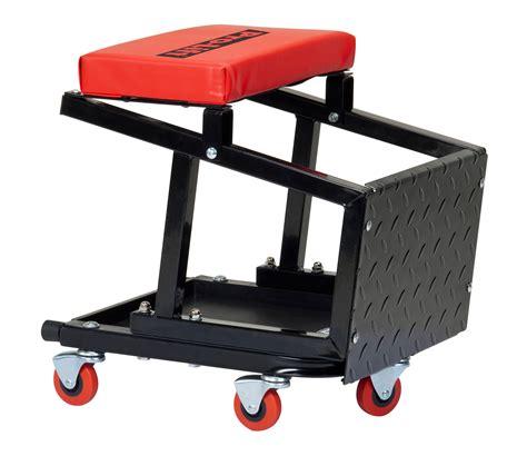 mechanics creeper chair combo pro lift pro lift creeper seat stool combo 300 lbs