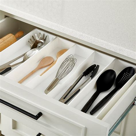 tray organizer for kitchen expand a drawer utensil trays the container 6364