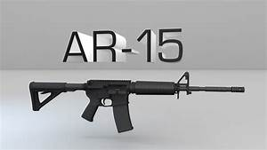 How An Ar-15 Rifle Works  Part 1  Components