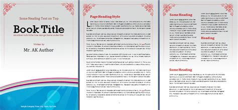 booklet template free booklet template office templates