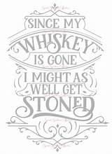 Svg Gone Whiskey Since Coloring Pages Etsy Adult Quote Cricut Printable Glass Stencils Coffee Letters Wood Crafting Don sketch template