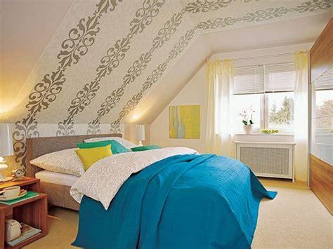 Ideen Wandgestaltung Dachschräge by Wandgestaltung Schlafzimmer Dachschr 228 Ge