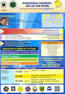 Undangan International Conference and Call for Papers Bagi ...