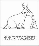 Coloring Pages Aardvark Printable Anteater Animals Sheet Abc Animalstown Town Pangolin Colorear Para Animal Getcoloringpages Sheets sketch template
