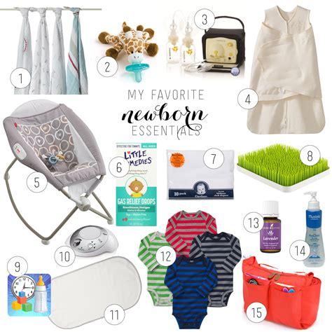 newborn baby essentials my favorite newborn essentials