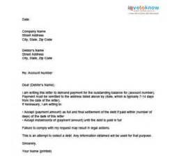 Card Credit Debt Letter Settlement