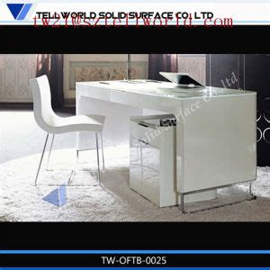 white marble desk china modern executive office counter table italian design