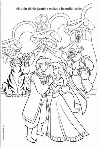 Coloring Pages Princess Disney Aladdin Jasmine Flickr