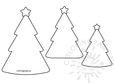Christmas Tree Shape Template