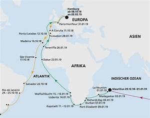 Seemeilen Berechnen Karte : aidaaura weltreise teilstrecke 3 von mauritius nach hamburg aidaaura weltreisen kreuzfahrt ~ Themetempest.com Abrechnung