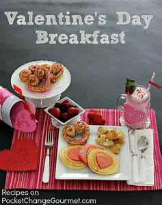 Valentine's Day Breakfast Recipe | Pocket Change Gourmet