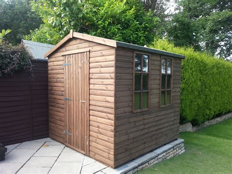 12x8 Shed Tg by The Tunstall Cabin Shiplap Woodcraft Uk