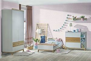 Grande Bibliothèque Murale : atb nordik 5 meubles lit 140x70 commode armoire 2 ~ Teatrodelosmanantiales.com Idées de Décoration