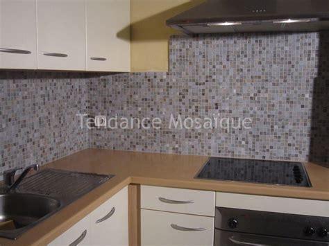mosaique cuisine credence pose p 226 te de verre mosaique dolce mosaic cr 233 dence cuisine