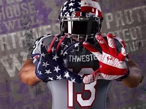 Northwestern will wear the most patriotic jerseys in ...