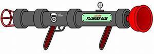 ACME Plunger Gun by LooneyTunerIan on DeviantArt