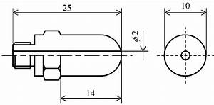 Conventional Leek Peeler Nozzle  Dimensions In Mm