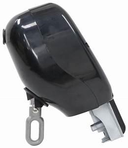 Solera Manual Crank Style Awning Drive Head  Black Lippert