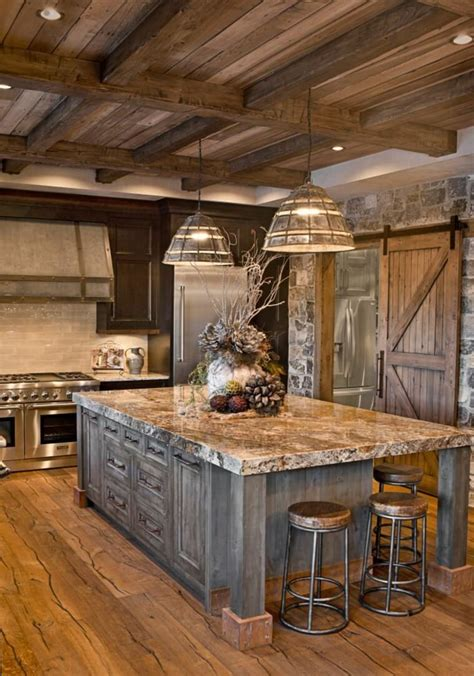 rustic kitchen decorating ideas 27 best rustic kitchen cabinet ideas and designs for 2017