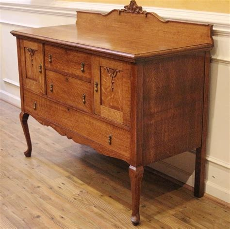 Antique Sideboard Buffet For Sale by Antique Golden Oak Sideboard Server Buffet Country