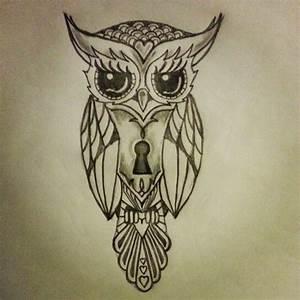 hawaiian owl drawing - Google Search | tattoos | Pinterest ...