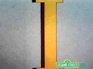 Sesame Street Letter I - YouTube  I