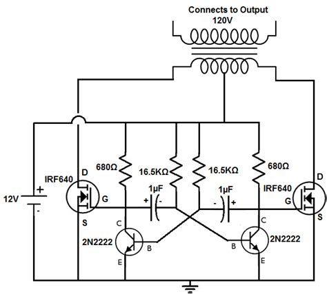 power inverter circuit switch mode   electronic