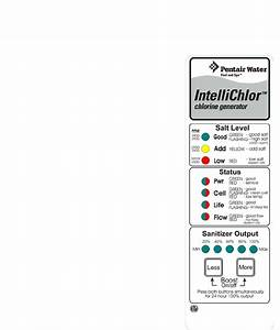 Pentair Ic20 Ic40 Users Manual Intellichlor Installatin