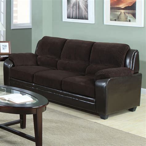 Chocolate Brown Sofa And Loveseat by Venetian Worldwide Barton Chocolate Brown Sofa Home