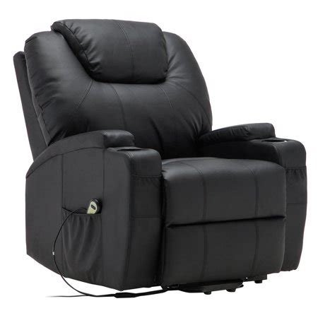 electric recliner chairs costway electric lift power recliner chair heated