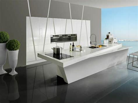 cuisine d hier et d aujourd hui la cuisine blanche laquée en 35 photos qui vont vous inspirer