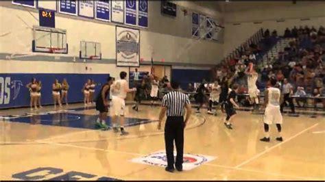 cccaa mens basketball semifinals dusty baker