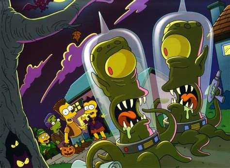 los simpson halloween wallpapers  simpsons especial