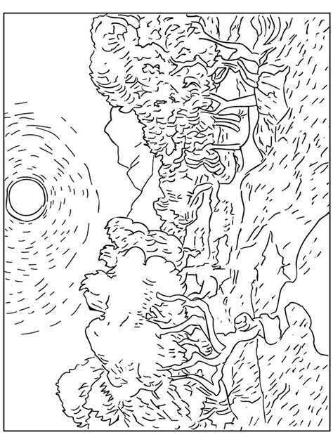 baby van gogh coloring pages coloring pages