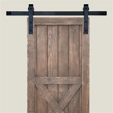 sliding door track longleaf lumber sliding barn door hardware