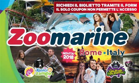ingresso zoomarine zoomarine roma ingresso a zoomarine roma groupon
