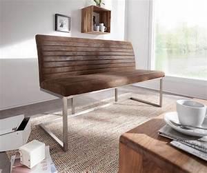 Sitzbank 140 Cm : sitzbank earnest 140 cm braun vintage abgesteppt m bel ~ Watch28wear.com Haus und Dekorationen