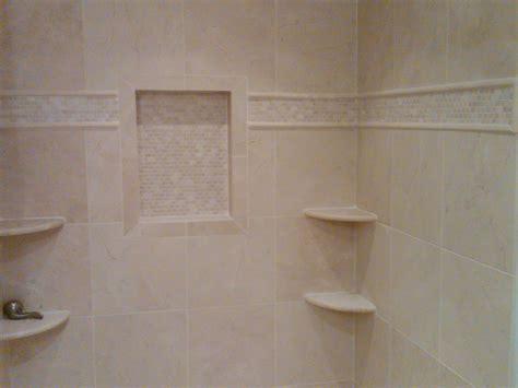 marble shower shelf bathroom remodeling in brighton mi landmark contractors