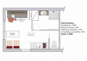 90 best images about idee amenagement studio on pinterest With idee deco studio 30m2