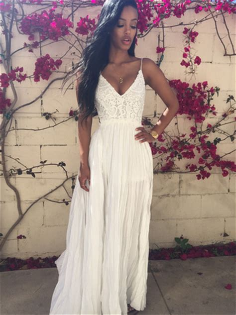 custom bohobohemian prom dresses backless prom gowns